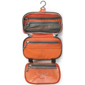 Osprey Ultralight Hygienialaukku Vetoketjulla, poppy orange